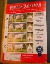 HOARD'S DAIRYMAN MAGAZINE FEB 25 2009 NATIONAL DAIRY FARM REDUCE COW INJURIES