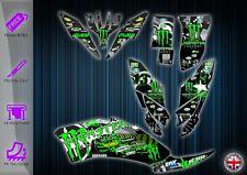 YAMAHA RAPTOR 250 STICKERS - GRAPHICS KIT - DECALS YFM 250 ATV GRAPHICS KIT