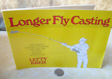 LARGER FLY CASTING,1991,Lefty Kreh,Illustrated