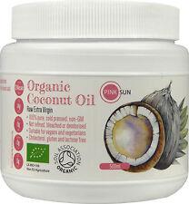 Organic Coconut Oil Raw Cold Pressed 500ml Pure Extra Virgin Unrefined Hair Skin