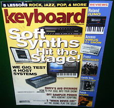 2009 Ayo Oyerinde Tour Rig: ROLAND VK-8, RD-700SX XP-30 Keyboard Review Magazine