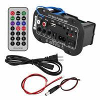 50W Car Digital Bluetooth Subwoofer Hifi Bass Power Amplifier Board Audio AMP DG