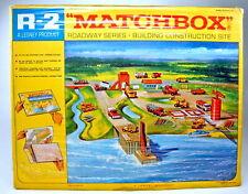 """Matchbox Roadway R-2C """"Construction Site / Baustelle"""" 1968"""