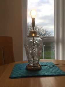 Crystal Lamp Base