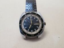 Vintage Cordura Sea Gull 17 Jewels Diverwatch 1960s Mens Automatic