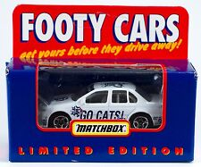 Matchbox Footy Cars Australian AFL Geelong Cats 1:64 New Limited Edition