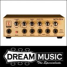 David Eden WTX-264 260W Bass Amp Head USA MADE RRP$1199