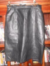 Unbranded Leather A-Line Skirts for Women