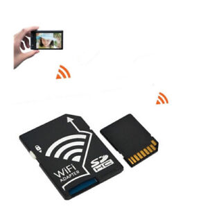 WIFI Adapter Wireless Memory Card TF to SD SDHC SDXC Card Kit for iPhone Android