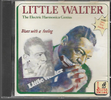 LITTLE WALTER THE ELECTRIC HARMONICA GENIUS BLUES WITH A FEELING CD VGC