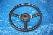 Factory Leather Steering Wheel Jeep CJ-5 CJ-7 Cherokee YJ Comanche Scrambler