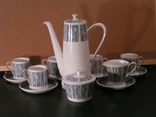 Tuscan 'Manhattan' design Fine English Bone China Coffee Set x 16 pieces (R008)