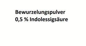 10 g Bewurzelungspulver Stecklingspulver Bewurzelung Hormon Indol-3-essigsäure