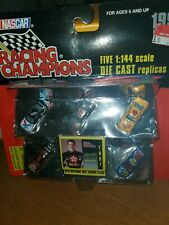NASCAR 1997 Racing Champions 5 car set with Matching Trading Cards NEW 7
