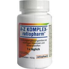 A-Z KOMPLEX ratiopharm Tabletten 30Stück Vitamine neu