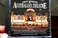 Great Moments In Australian Theatre - Warlow, Byrne, Cousens, Prior... - CD, VG