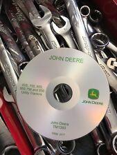 JOHN DEERE 655 755 855 955 756 856 TRACTOR SERVICE REPAIR MANUAL CD TM1360