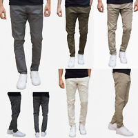 883 Polic Mens New Moriarty Slim Fit Stretch Designer Smart Casual Chinos Jeans