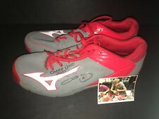 Chris Sale Boston Red Sox Signed 2017 Game Used Cleats Gray