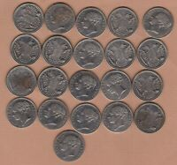 21 VICTORIA REGINA DOUBLE EAGLE GAMING TOKENS IN VERY FINE OR BETTER CONDITION