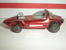 Hot Wheels Redline SILHOUETTE 1967 Rose Red vtg