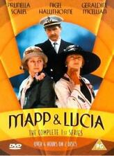 MAPP & LUCIA SERIES 1 PRUNELLA SCALES NIGEL HAWTHORNE 2 DISC BOX SET UK DVD NEW