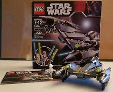 Lego Star Wars Episode III General Grievous Starfighter #7656 100% Complete!