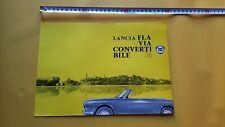 Lancia Flavia Vignale Convertibile 1.8 1963 depliant originale auto brochure