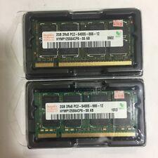 Hynix 4GB 2X 2GB Netbook/Laptop RAM ddr2 so DIMM 800 MHz pc2-6400s Laptop Memory