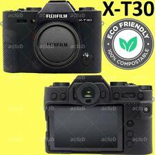 Fujifilm X-T30 XT30 Silicone Protective Case Camera Body Skin Cover - Black