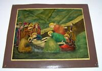 Vintage USSR Unknown master Collectible PICTURE / PAINTING / ARTWORK HANDMADE
