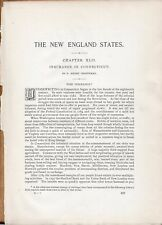 Insurance in Connecticut, by P. Henry Woodard  - 117 Pg - 1897 History