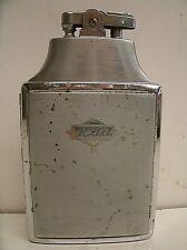 "Vintage Ronson Mastercase Cigarette Case & Lighter Engraved ""R.J.J."" Chrome"