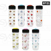 BTS BT21 Official Authentic Goods Three-dimensional lid bottle 500ml 16.9oz