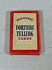 Vintage OLD GYPSY FORTUNE TELLING CARDS - Whitman Publishing #3013