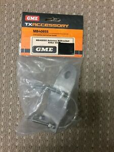 GME MB408SS 3mm Stainless Steel Bull Bar Antenna Mounting Bracket