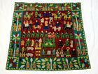 Kutchi Banjara Antique Masterpiece Hand Miniature Patch Work Tapestry Embroidery