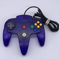 Authentic OEM Nintendo N64 Funtastic Atomic Grape Purple Controller 7/10 Stick