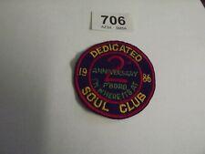 More details for vintage 1986 fleet dedicated soul club 2st ann  lambretta vespa mod 706