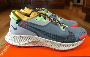 Nike Women's Pegasus Trail 2 Goretex Smoke Grey Black Bucktan CU2018 002 Size 10