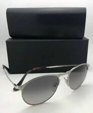 Polarized PERSOL Sunglasses 7649-S 1068/M3 53-18 145 Silver w/Grey Gradient Lens