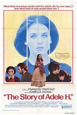STORY OF ADELE H Movie POSTER 27x40 Isabelle Adjani Bruce Robinson Sylvia