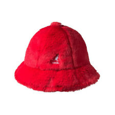 Kangol Faux Fur Casual Bucket Hat Size M
