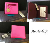 NWT Fossil Emma Pink leather Mini Wallet, RFID shield + 25% off your next order*