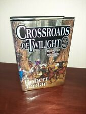 Crossroads of Twilight (Wheel of Time 10) Hardcover Robert Jordan Signed 1st