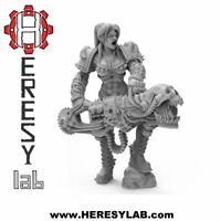 HL09 - Female Lord - Lust Xenia Slaanesh - Warhammer 40k Proxy- Heresylab