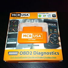 MCR Bluetooth Scanner OBD2 Diagnostic BMW Mercede Blackberry Passport Compatible