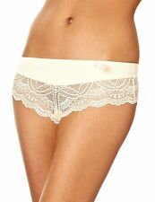 6ixty 8ight Micro Satin Lace Hipster Underwear Size 14