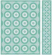 Cuttlebug 5x7 Embossing folder & Border - Circular Grid - 2002111
