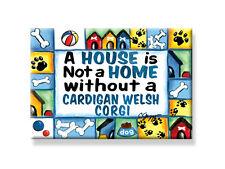"Deco Magnet 2""x3"" Cardigan Welsh Corgi Fridge Magnet dog breeds dogs gift Usa"